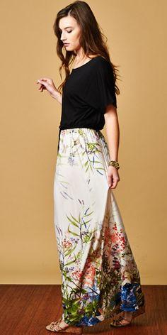 Modest Boyfriend drawstring Maxi Dress elbow length sleeves | Mode-sty