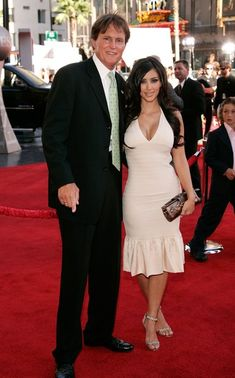 Kim Kardashian and Bruce Jenner at the 2006 ESPY Awards