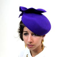 1950s Mad Men Neon Purple New Old Stock by pinkchampagnevintage, $64.99