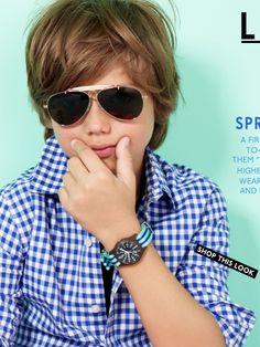 Longer hair for boys- J.Crew Boys Spring 2014