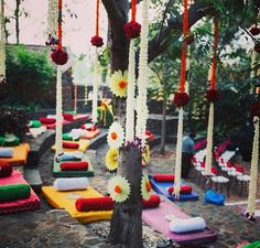 Simple relaxed wedding on a cool suburban morning. Wedding Decor by 3 Production Wedding Planners Banaglore