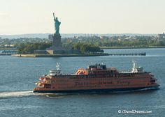 Statue of Liberty, New York City - photo was taken off the balcony of the Caribbean Princess - Canada/New England cruise  www.itraveldreams.com