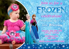 Disney Frozen Birthday Party Invitation  by FantasticInvitation, $8.99