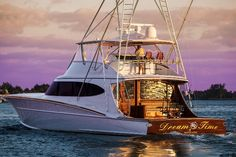 B15 80' Dream Time- Bayliss Boatworks #reellife #gearthatfitsyourlifestyle www.reellifegear.com