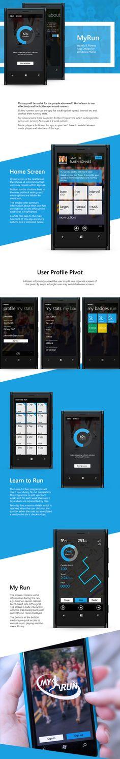 MyRun for Windows Phone