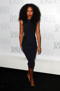 Kelly Rowland - Red #Lipstick & Beautiful hair! #beauty #fashion #curlyhair