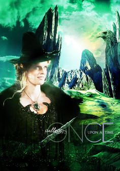 Rebecca Mader as Zelena/The Wicked Witch | Once Upon A Time ~ Fan Art by Isalleen