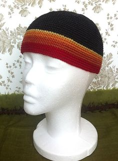 Lignumi Beanie  Fire Edition  Hand Crocheted Adult by Fabulami, ¥5400