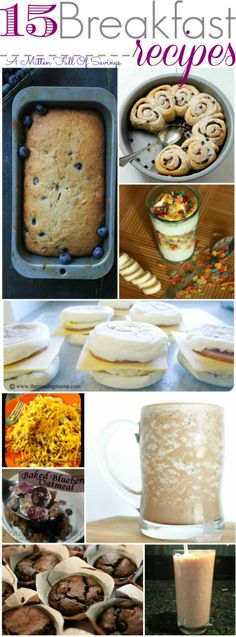 Need Fresh Ideas For Breakfast? Check Out 15 Breakfast Recipes