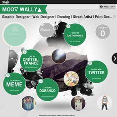 Graphical bio: Moo∇ Wally▲