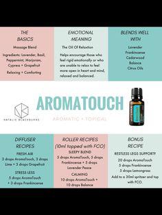 doTERRA AromaTouch Essential Oil Massage Blend 15 Ml for sale online Essential Oils For Massage, Essential Oils Guide, Essential Oil Uses, Doterra Blends, Doterra Essential Oils, Vetiver Essential Oil, Essential Oil Diffuser Blends, Doterra Diffuser, Aromatherapy Oils