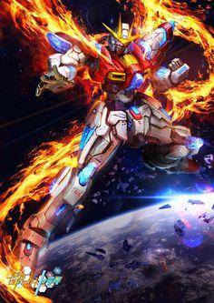 GUNDAM GUY: Awesome Gundam Digital Artworks [Updated 4/4/15]