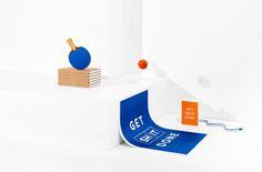 Modern, fresh stationery from Australian company Mi Goals.