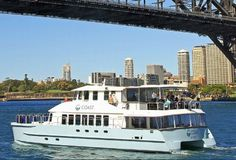 The very experienced owner operators and crew of Coast offer a world-class service. Boat Hire, Cruise Boat, Cruises, San Francisco Skyline, Sydney, Coast, Australia, World, Travel