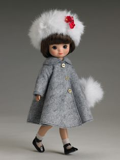 """betsy mccall 8"""" """"bundled up"""" ~ by robert tonner...how cute is she?"""