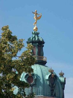 Schloss Charlottenburg ~ Berlin ~ Germany tower detail