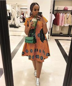 These Ankara Styles Would Get Your Girl To Slay - Manly 24 African Dresses For Kids, African Fashion Ankara, Latest African Fashion Dresses, African Dresses For Women, African Print Dresses, African Print Fashion, African Attire, Modern African Fashion, Ankara Short Gown Styles