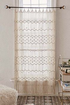 Magical Thinking Macrame Wall Hanging Urban Outfitters Curtains- Home Decorative