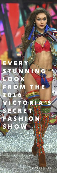 Every Stunning Look from the 2016 Victoria's Secret Show