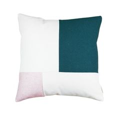 Image of Coussin GUS - vert et rose