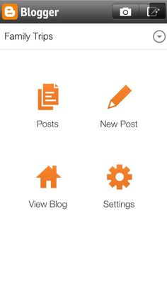 Here's the new Blogger app for iOS