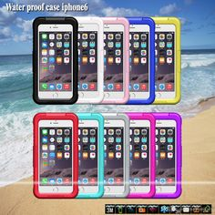 Cell Phones Covers Waterproof Hard Cover Case For Apple Iphone 5s/6/6plus 100% Sport Swimming Diving Phone Cases High Quality Dhl Free Silicone Phone Cases From Mayiandjay, $259.69