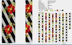 18 around bead crochet rope pattern Crochet Bracelet Pattern, Crochet Beaded Bracelets, Bead Crochet Patterns, Beaded Jewelry Patterns, Peyote Patterns, Crochet Designs, Beading Patterns, Spiral Crochet, Bead Crochet Rope