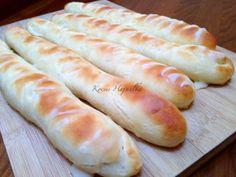 Sós rúd | mókuslekvár.hu Winter Food, Food Pictures, Hot Dog Buns, Healthy Living, Food And Drink, Cooking Recipes, Rum, Bread, Snacks