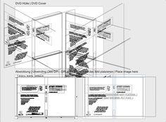 Split view of the Affinity Designer vector DVD cover mockup.