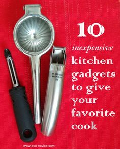 10 Inexpensive Kitchen Gadgets to Give Your Favorite Cook