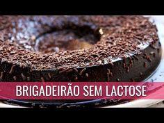 BRIGADEIRÃO CREMOSO COM 4 INGREDIENTES - YouTube Sin Gluten, Doce Light, Cooking, Desserts, Gluten Free Foods, Sweet Recipes, Health Recipes, Best Desserts, Condensed Milk