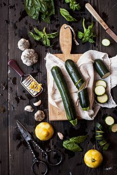 Zucchini Pesto Ingredients | Flickr - Photo Sharing!