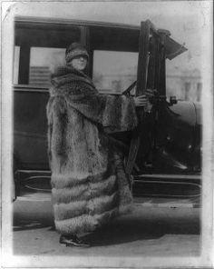 1920's Raccoon Coat
