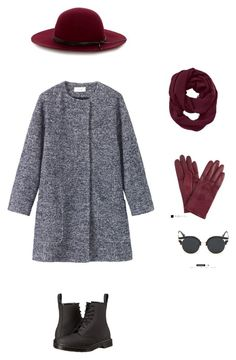 """Marsala"" by justnika on Polyvore featuring мода, Toast, Athleta, John Lewis, Warehouse и Dr. Martens"