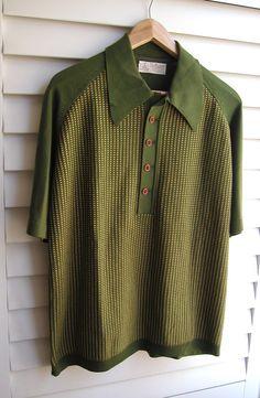 Vintage Mens Shirt by MarysVintageLoved on Etsy,