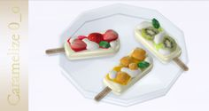 Fruit Popsicle Set (LQ / clutter) 111 simoleons TS4 CC - Mesh by Caramelize 0_o DOWNLOAD (From Box) ——————————- +++ TERMS OF USE +++ Please DO NOT re-upload, modify, convert to TS2/TS3/TS5, or include...