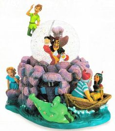 Welcome to the Collectors Guide to Disney Snowglobes. Information on over 2900 Disney snow globes. Chrissy Snow, Disney Snowglobes, Crocodile Rock, Sally Nightmare Before Christmas, Disney Ornaments, Disney Figurines, Disney Nursery, Peter Pan Disney, Disney Dolls