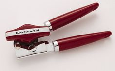 KITCHENAID STAINLESS STEEL CLASSIC CAN OPENER Red New In Package #KitchenAid
