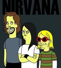 Kurt Dave Krist ♡ on Pinterest | Kurt Cobain, Nirvana and Dave Grohl