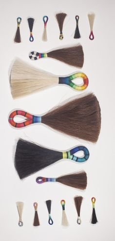 fredericks and mae horsehair tassels
