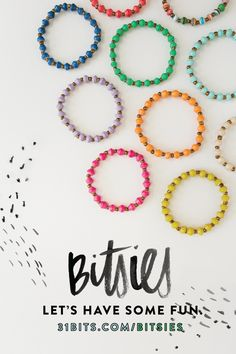 The new @31bits #Bitsies Collection | Bits for Kids!