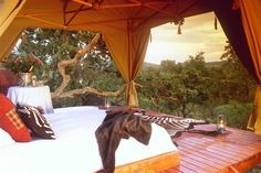 South African game lodge