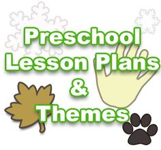 Preschool theme lesson plans, Kindergarten Lesson Plans & Pre K Themes For Kids!