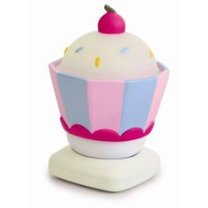 Luminária Recarregável Cupcake