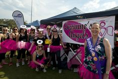 Our top fundraising team for 2013, Lorraine's Angels raised over $20,000