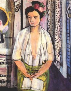 Henri Matisse...just a hint of sensuality.