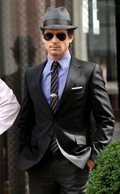 Neal Caffery, one of my favorite television characters of all time. Best suits, Mastermind con artist. True gentleman.