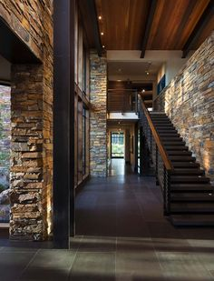 mountain modern retreat in the High Sierras Stone, concrete, wood and steel. Fabulous mountain modern retreat in the High SierrasStone, concrete, wood and steel. Fabulous mountain modern retreat in the High Sierras