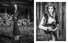 visual optimism; fashion editorials, shows, campaigns & more!: hinterland: ala keller and klementyna dmowska by szymon brodziak for schön! #...