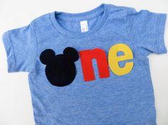 SAMPLE SALE Mickey Mouse Birthday Shirt for Disneyland Disney World Family Vacation Black Red Yellow via Etsy